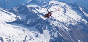 Helikopter-Kamera und Timelapse für SF Spezial