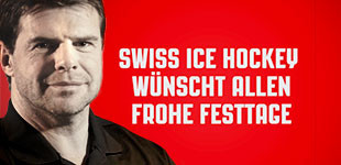 Swiss Ice Hockey Weihnachtsgruss